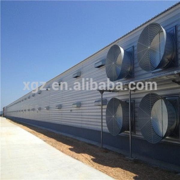 Construction Building Modern Low Price Automatic Steel Frame Double Floor Chicken House #1 image