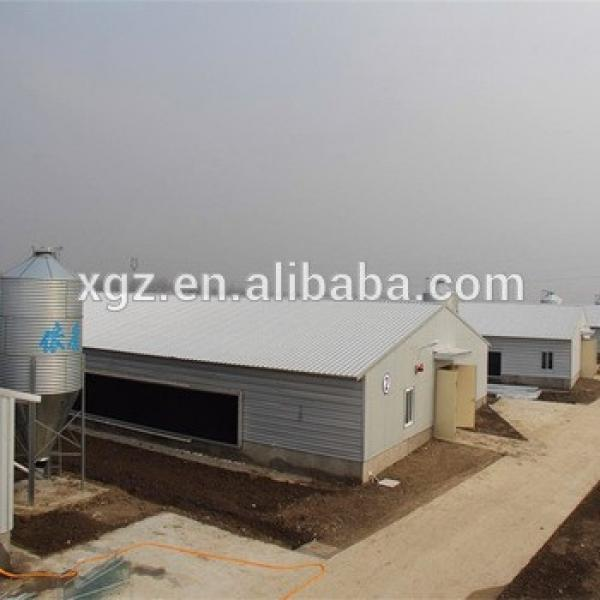 Chinese Steel Frame Turnkey Poultry House With Automated Facilities #1 image