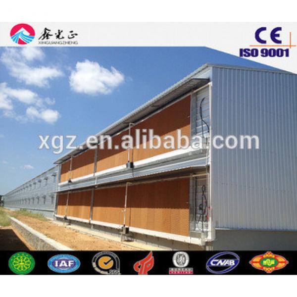 chicken farm design/Steel structure prefab poultry house, chicken farm(JW-16111) #1 image