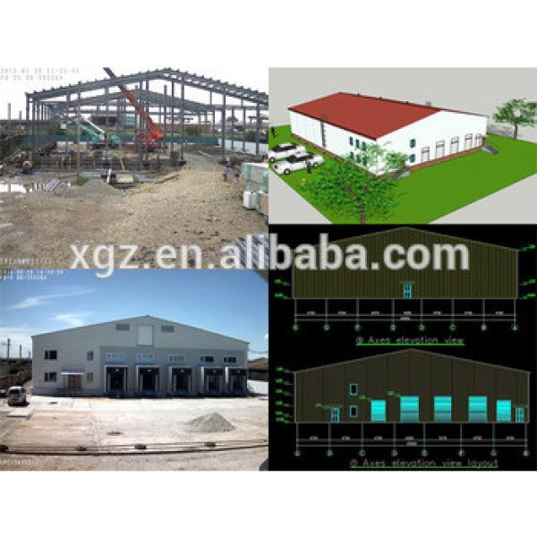 warehouse steel structure design #1 image