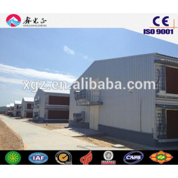 chicken farm building/Steel structure poultry farm, chicken house(JW-16108) #1 image
