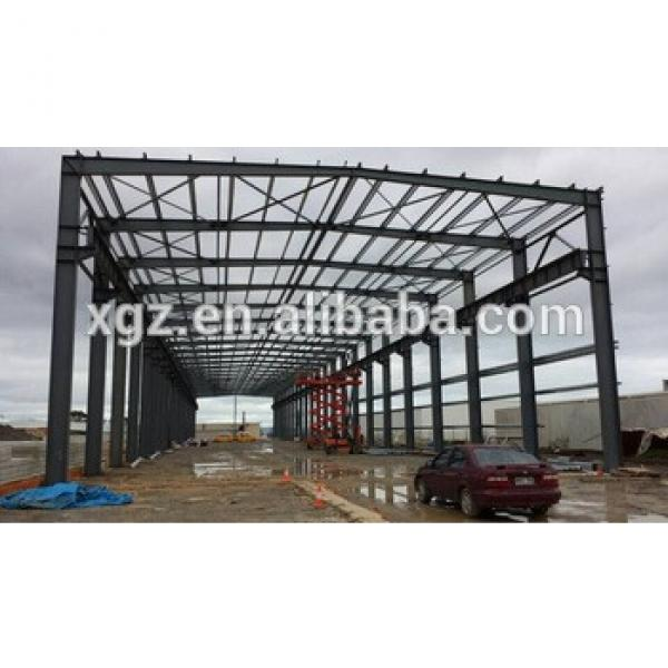 Prefabricated warehouse steel structure factory #1 image