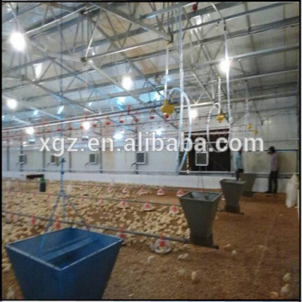 China steel structure building prefab poultry house chicken farm house #1 image