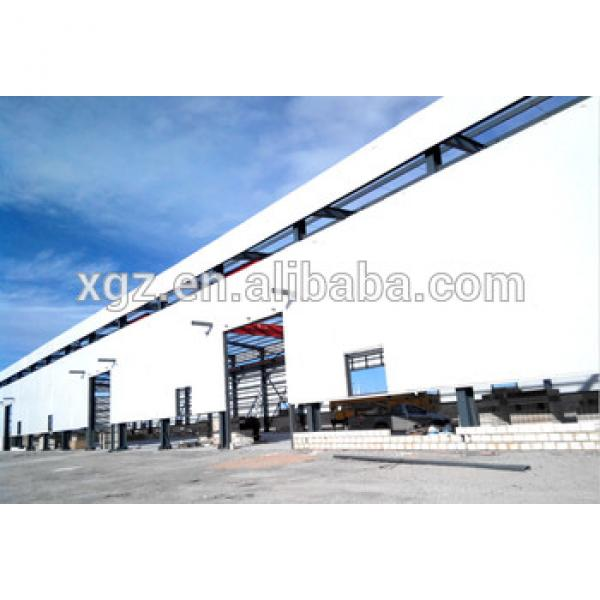 Prefabricated warehouse steel structure shed #1 image