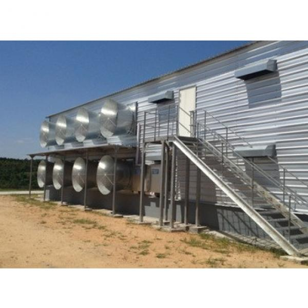 Prefabricated Customized equipments and Chicken Farm Building #1 image