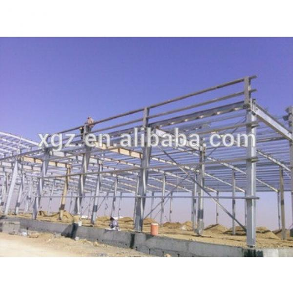 Prefabricated steel structure warehouse drawing #1 image