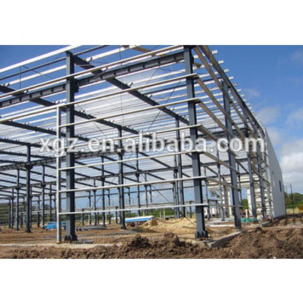 steel structure large span house and poultry farming building #1 image