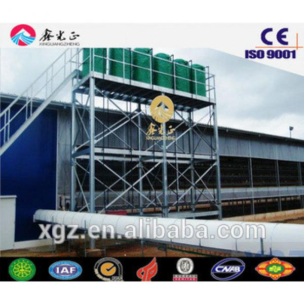 layer chicken cage/Steel structure poultry farm, chicken house(JW-16099) #1 image