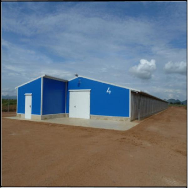 Chicken farm building cheap chicken coops commercial chicken house #1 image