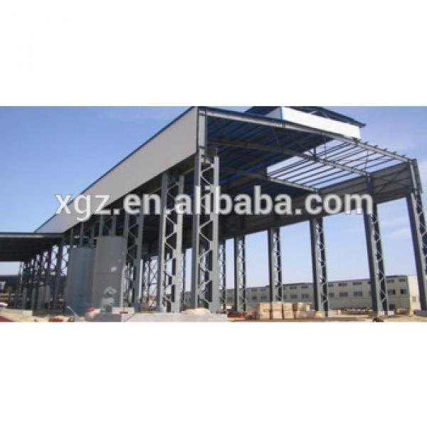 Low cost steel structure warehouse/prefabricated house #1 image