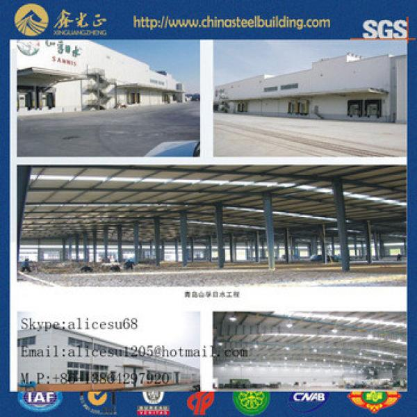 China Supplier low cost for steel building construction warehouse kit #1 image