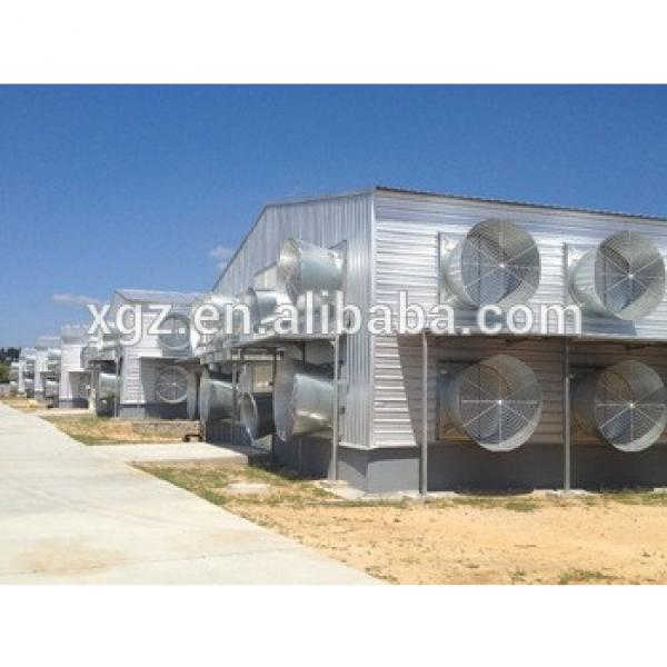 high quality steel poultry house chicken farm equipment from china #1 image