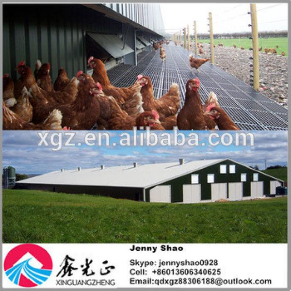 Low-cost Layer Egg Chicken Cage/Poultry Farm House Designs #1 image