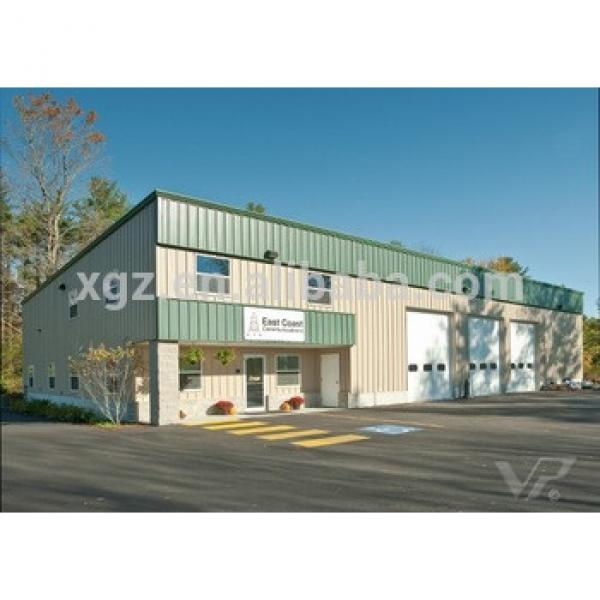 Low Cost Construction Design Steel Metal Structure Building Prefabricated Warehouse #1 image