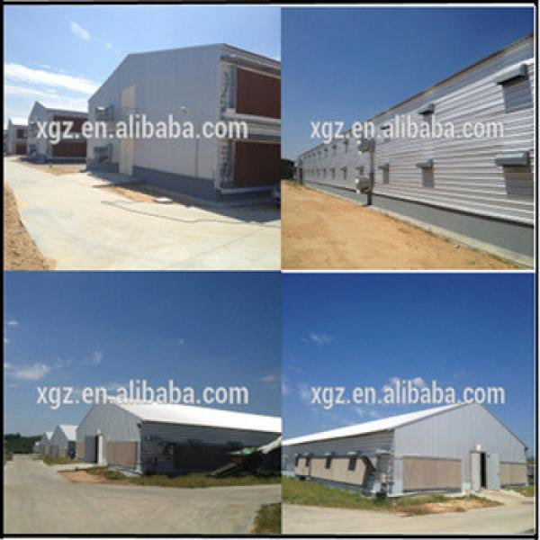 Prefab Steel Structure Chicken Farm Building And Automatic Controlled Poultry Chicken Farm Shed #1 image