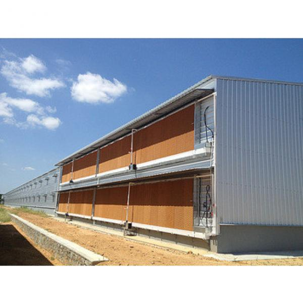 Economic prefab poultry house for chicken/hen #1 image