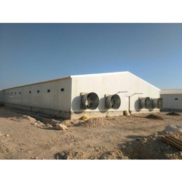 Steel Structure Broiler chicken farm building design #1 image