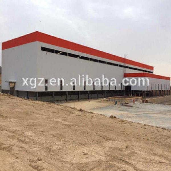 Prefab Light Steel Structure Industrial Workshop Building #1 image