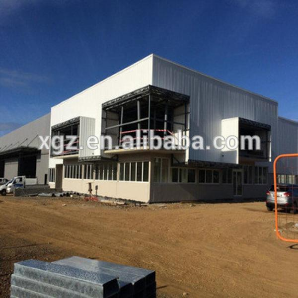 Chile Modular Prefabricated Steel Structure Showroom #1 image