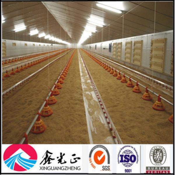 Prefabricated commercial design automated chicken poultry houses #1 image