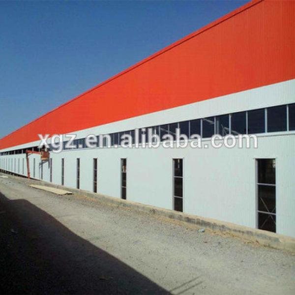 Light Frame Prefabricated Steel Building Industrial Shed #1 image