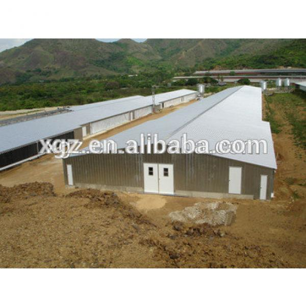 low price advanced automatic broiler poultry farm house design #1 image