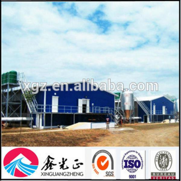 Steel structure farm broiler poultry house shed construction design chicken house #1 image