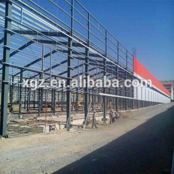 Low Cost Prefabricated light steel industrail sheds #1 image