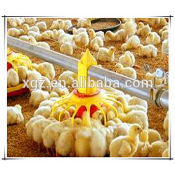 Prefabricated steel structure chicken farm houses in Africa #1 image