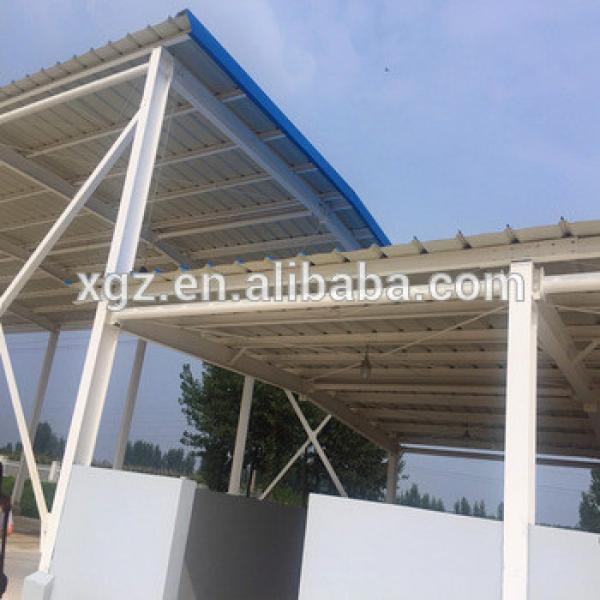 Latest Design Prefabricated Metal Steel Structure Shed #1 image