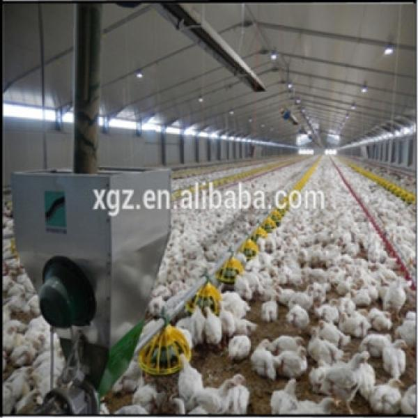 Steel structure farm broiler poultry house shed #1 image
