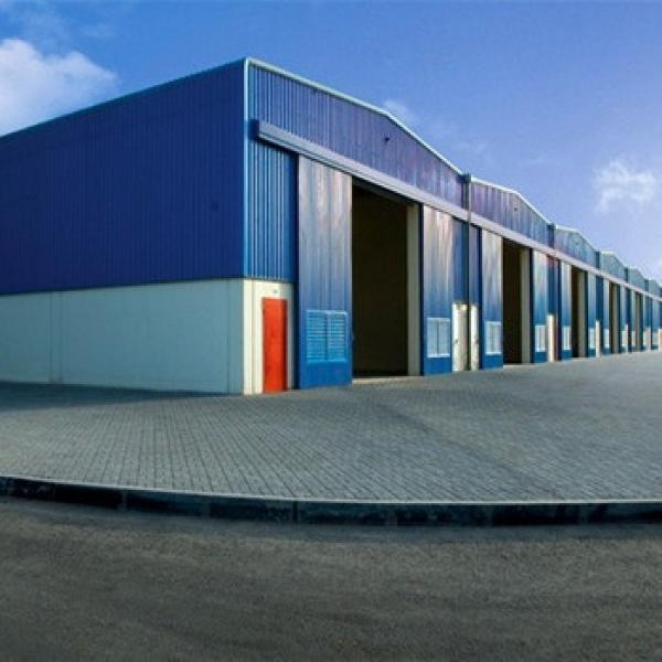 China Fast Construction Modern Design Industrial Steel Prefabricated Hall #1 image