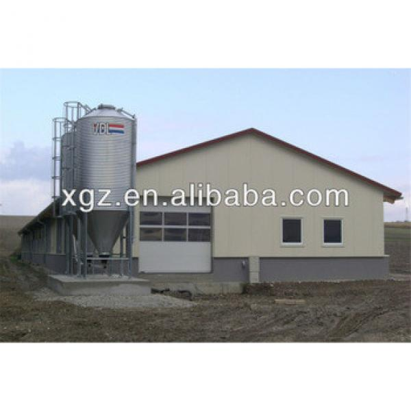 Economical Poultry Farm House For Broiler Layer Breeder Chicken Design #1 image