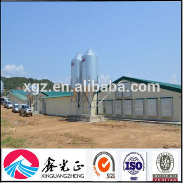 Prefabricated light steel structure industrial commercial chicken house #1 image