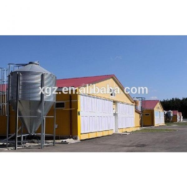 Cheap Modern Poultry Farm Design Prefab Chicken Farm Shed With Automatic Equipment For Sale #1 image