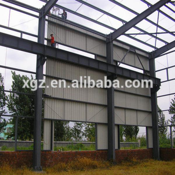 Prefabricated Steel Shed Industrial Cheap Metal Building #1 image