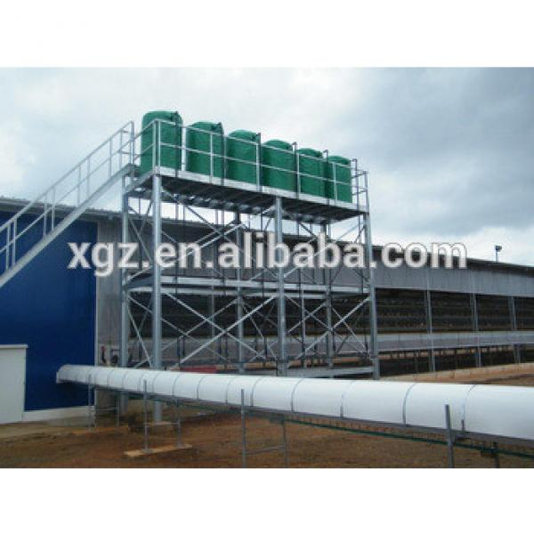 Steel Structure broiler poultry farm house design #1 image