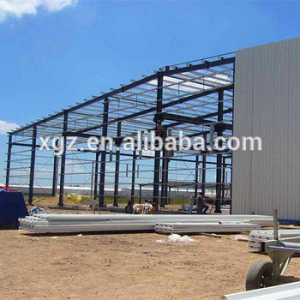 China Professional Design Cheap Prefabricated Steel Warehouse #1 image