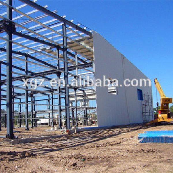 Prefabricated Construction Design Warehouse Steel Structure #1 image