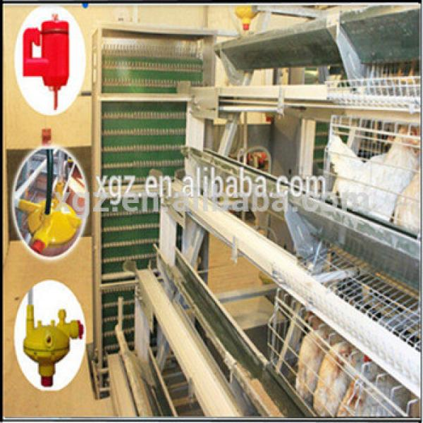 Professional Designed Galvanized layer chicken cage (ISO 9001) Standard #1 image
