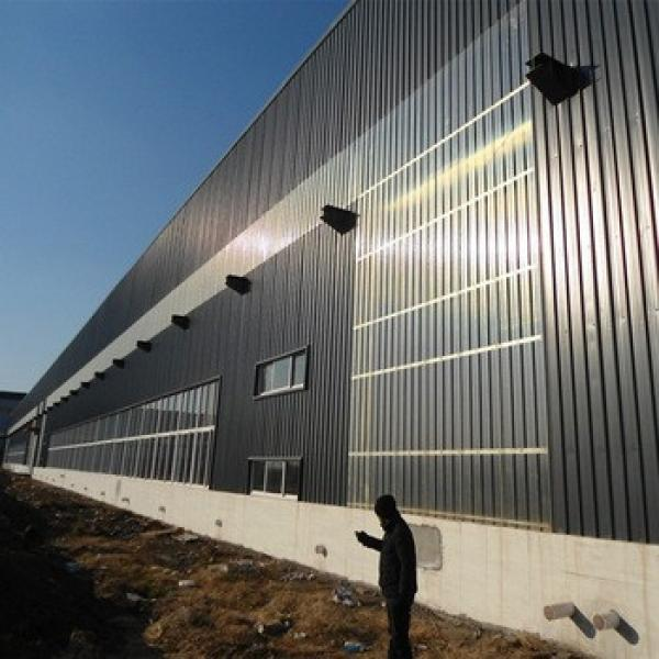 Light weight China Manufacturer Prefabricated Structural Steel Warehouse #1 image