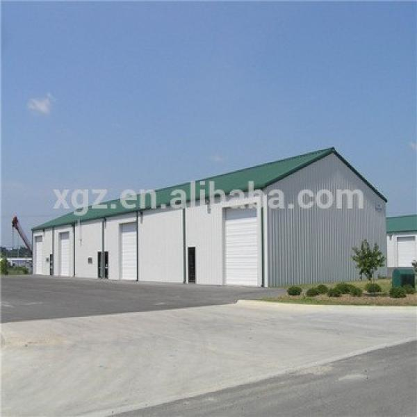 Prefab Corrugated Lightweight Steel Structure Space Storage Warehouse #1 image