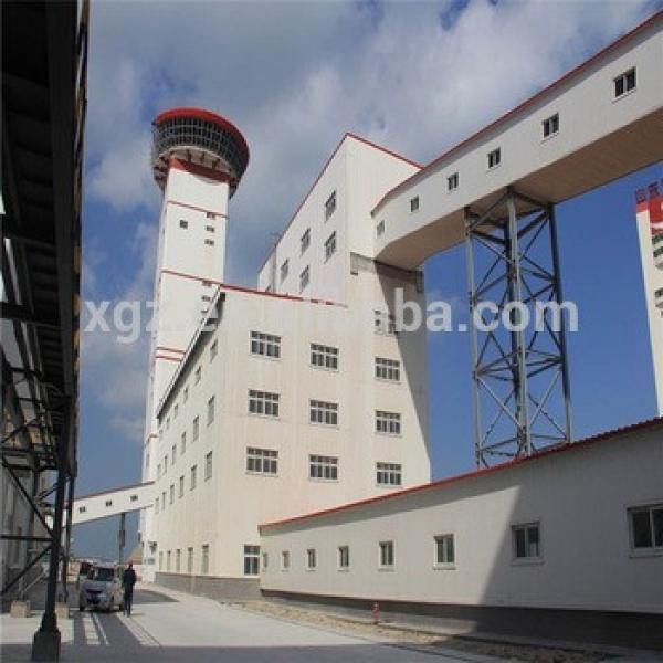 China Supplier Cheap Galvanized Prefabricated Steel Building #1 image