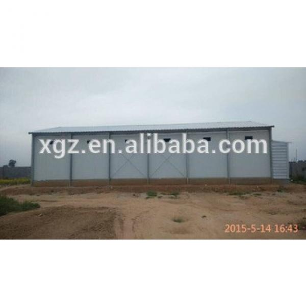 light steel structure poultry house prefab steel chicken farms #1 image