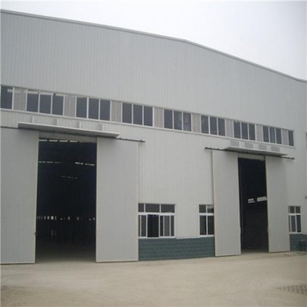 China Prefabricated Long Span Industrial Steel Frame Building #1 image