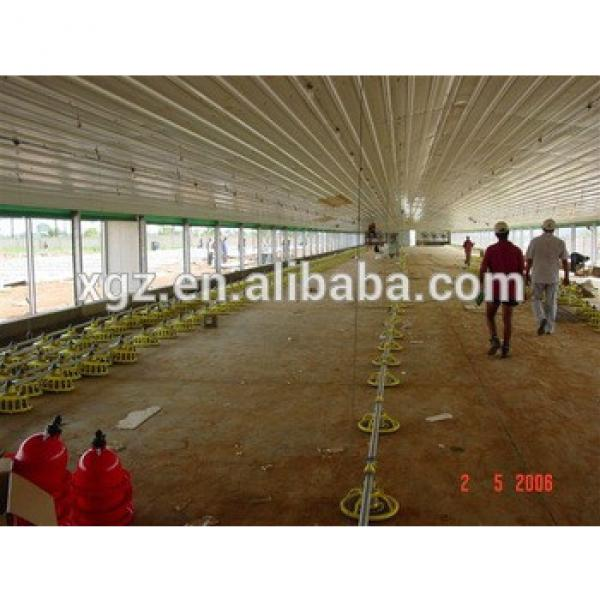 Poultry Broiler House/design Floor-saving Layer Chicken Shed For Algeria Hen Farm #1 image