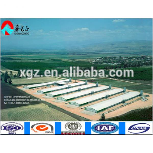 China Supplier Layer/broiler Poultry Shed Chicken House #1 image