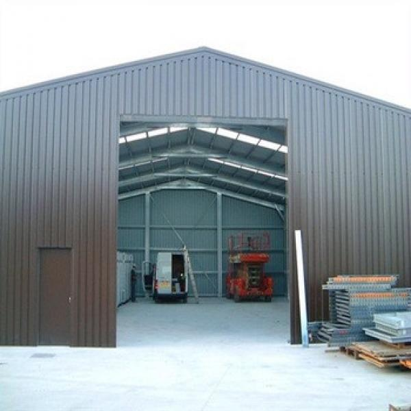 Light Frame Construction Warehouse Prefabricated Industrial Steel Building #1 image