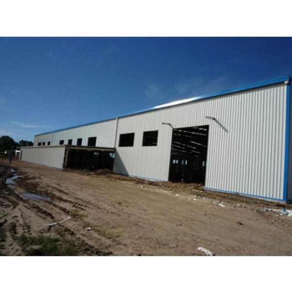 Hot Sales Prefabricated Steel Structure Building With High Quality & Low Price #1 image