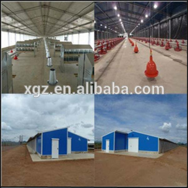 Light Frame Professional Steel Structure Poultry Farm House #1 image